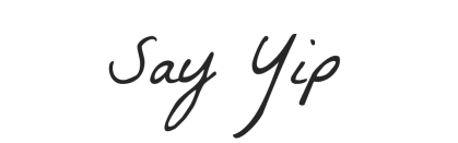 Say Yip Logo